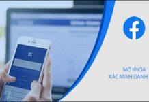 xác nhận danh tính Facebook bằng hình ảnh bản thân