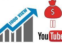 1000 view youtube được bao nhiêu tiền ở việt nam
